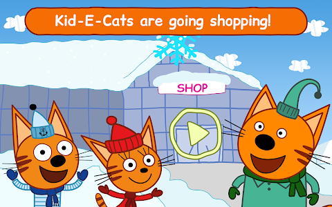 screenshot of Kid-E-Cats: Grocery Store & Cash Register Games version 1.5.0