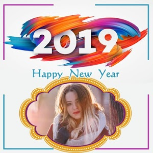 screenshot of 2019 New Year Photo Frames Greetings Wishes version 1.7
