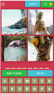 screenshot of 4 Pics 1 Word Game version 3.2.8z