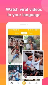 screenshot of 4Fun - Funny Video, Status For WhatsApp,Share&Chat version 2.09