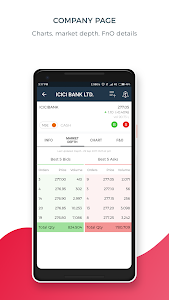 screenshot of 5paisa - Share Trading & Mutual Funds App version 2.8