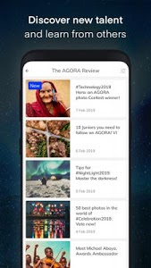 screenshot of AGORA - The best images by people of the world version 1.7.5