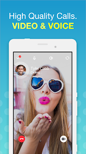 screenshot of free video calls and chat version 7.5.2(800371)