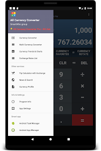 screenshot of All Currency Converter version 3.5.3