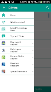 screenshot of USB Driver for Android Devices version 10.1