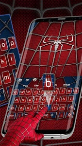 screenshot of Amazing Spider Hero KeyboardTheme version 10001003