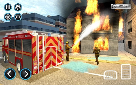 screenshot of American Firefighter Emergency Rescue version 1.0.2