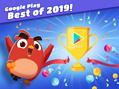 screenshot of Angry Birds Dream Blast: Bubble Puzzle Shooter version 1.21.3