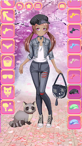 screenshot of Anime Kawaii Dress Up version 5.2.1