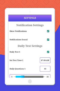 screenshot of Aptitude Test and Preparation, Tricks & Practice version 5.4