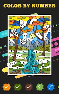 screenshot of Artwork By Numbers For Adult version 1.3