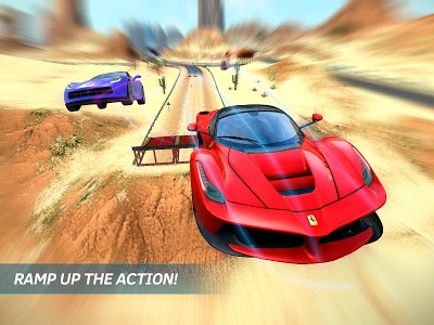 screenshot of Asphalt Nitro version 1.7.2o