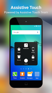 screenshot of Assistive Touch 2019 version 2.6.138