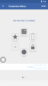 screenshot of Assistive Touch version 1.0.8