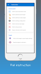 screenshot of Auto Clicker - Tapping version 2.1