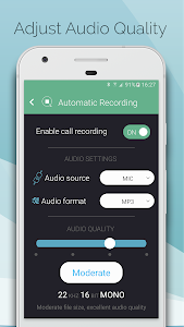 screenshot of Automatic Call Recorder - CallsBOX version 1.2