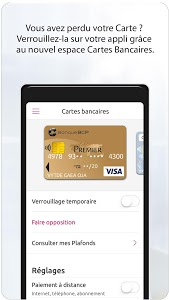 screenshot of Banque BCP version 5.10.0