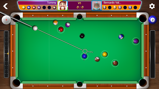 screenshot of Ball Pool Online version 1.3