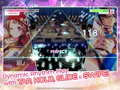 screenshot of BanG Dream! Girls Band Party! version 2.8.12