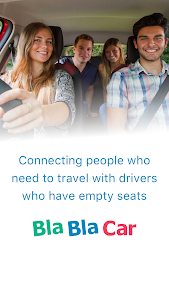 screenshot of BlaBlaCar, Trusted Carpooling version 4.11.4