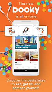 screenshot of Booky - Food and Lifestyle version 4.24.1
