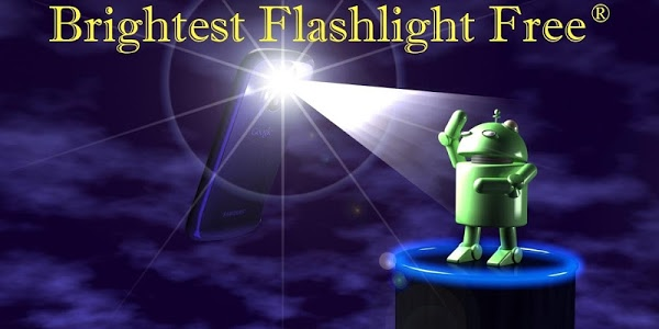 screenshot of Brightest Flashlight Free ® version 2.5.2