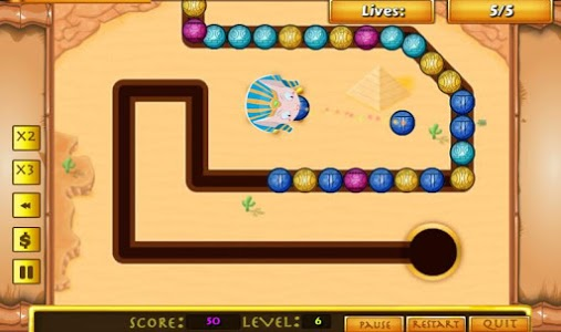 screenshot of Bubble Blast - Marble Shooter Game version 1.0
