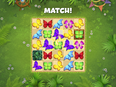 screenshot of Butterfly Garden Mystery: Scapes Match 3 Story version 1.20.3