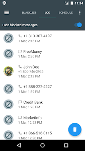 screenshot of Calls Blacklist - Call Blocker version Varies with device