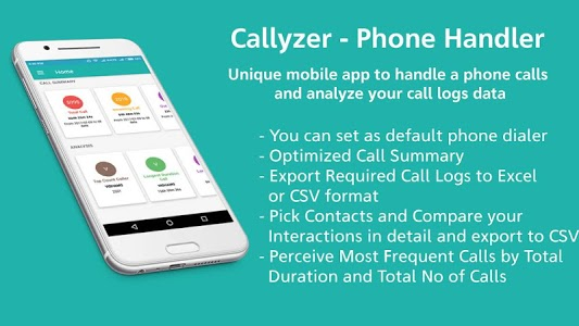 screenshot of Callyzer - Phone Handler version 1.12