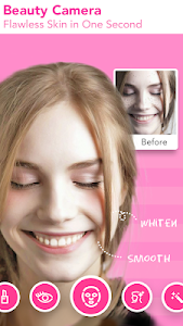 screenshot of Face Filter, Selfie Editor - Sweet Camera version 1.6.5