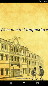 screenshot of CampusCare version 3.5