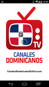 screenshot of Canales Dominicanos version 3.2