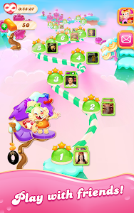 screenshot of Candy Crush Jelly Saga version 1.34.4