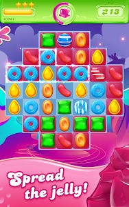 screenshot of Candy Crush Jelly Saga version 1.44.5