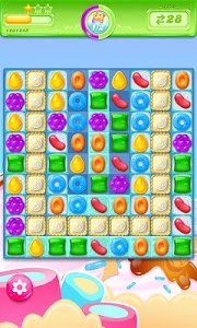 screenshot of Candy Crush Jelly Saga version 2.16.7