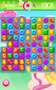 screenshot of Candy Crush Jelly Saga version 1.29.8