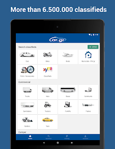 screenshot of Car.gr: Automobile and parts market in Greece version 2.3.9