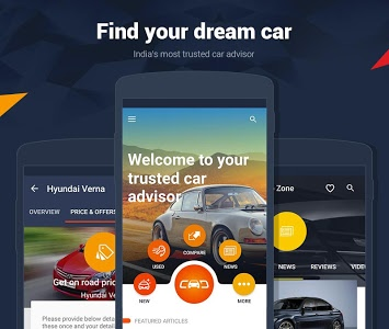 screenshot of CarDekho - New & Used Cars Price & Offers in India version Varies with device