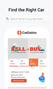 screenshot of CarDekho: Buy,Sell New & Second hand Cars, Prices version Varies with device