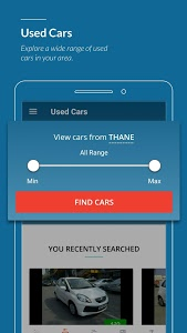screenshot of CarWale - Buy,Sell New & Used Cars,Prices & Offers version 6.1.0