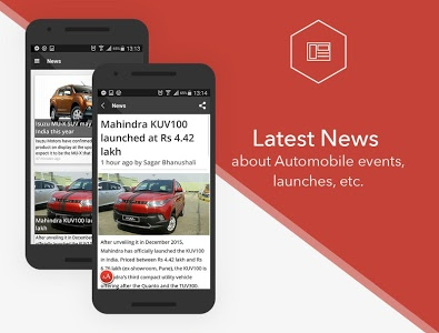 screenshot of CarWale- Search New, Used Cars version 3.9.1