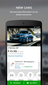 screenshot of CarWale- Search New, Used Cars version 4.9.2