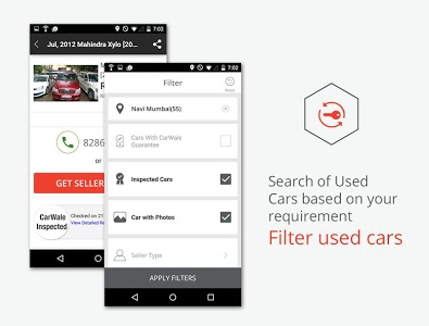 screenshot of CarWale- Search New, Used Cars version 3.1.6