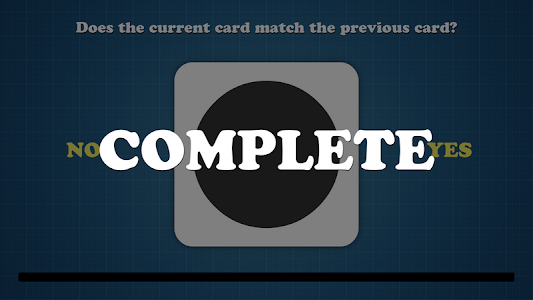 screenshot of CardMatch version 1.0.2