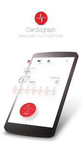 screenshot of Cardiograph - Heart Rate Meter version Varies with device