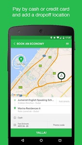 screenshot of Careem - Car Booking App version 6.8.0