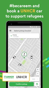 screenshot of Careem - Car Booking App version 8.6.2