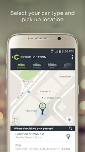 screenshot of Careem version 4.6