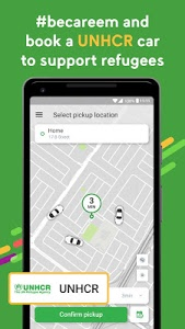 screenshot of Careem - Car Booking App version 9.0.5